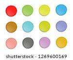 set of buttons for web design... | Shutterstock .eps vector #1269600169