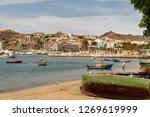 mindelo  cape verde   october... | Shutterstock . vector #1269619999