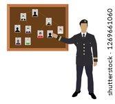 policeman  soldier  captain... | Shutterstock .eps vector #1269661060