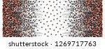 flowers pattern.silk scarf... | Shutterstock . vector #1269717763