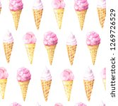 seamless pattern with...   Shutterstock . vector #1269726529