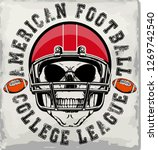 football sport typography  t... | Shutterstock . vector #1269742540