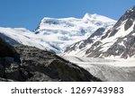 the corbassiere glacier is a...   Shutterstock . vector #1269743983