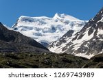 the grand combin is a mountain...   Shutterstock . vector #1269743989