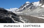 the corbassiere glacier is a...   Shutterstock . vector #1269744016