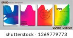 creative colored cover. cover... | Shutterstock .eps vector #1269779773