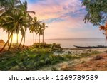 sunrise at the banks of the...   Shutterstock . vector #1269789589