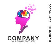 creative think logo  people... | Shutterstock .eps vector #1269791020