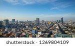 phnom penh cambodia overview... | Shutterstock . vector #1269804109