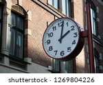 old fashion street clock | Shutterstock . vector #1269804226
