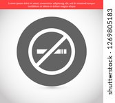 no smoking vector icon eps 10