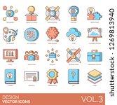 design icons including mind... | Shutterstock .eps vector #1269813940