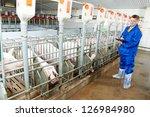 Veterinarian doctor worker at...
