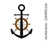 anchor clip art for your... | Shutterstock .eps vector #1269851116