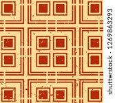 vector modern tiles pattern.... | Shutterstock .eps vector #1269863293