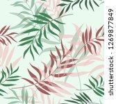 stylish trendy minimalistic... | Shutterstock .eps vector #1269877849