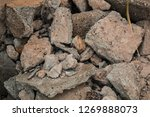 rough textured stones and... | Shutterstock . vector #1269888073