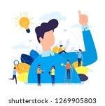 vector illustration  flat... | Shutterstock .eps vector #1269905803