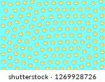chat design. irregular pattern. ... | Shutterstock . vector #1269928726