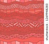 abstract vector seamless... | Shutterstock .eps vector #1269948283