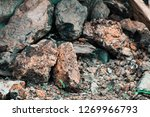 rough textured rocks | Shutterstock . vector #1269966793