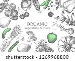 hand drawn illustration of...   Shutterstock .eps vector #1269968800