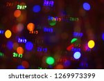 Abstract Bokeh Background With...