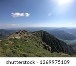 Panasonic views of alps from atop Monte Generoso, Switzerland