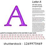 glowing neon purple color shiny ... | Shutterstock . vector #1269975469