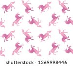 Vector Seamless Pattern Of Pink ...
