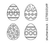 Easter Egg Vector For Drawing...