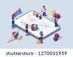 data analytics systems software ... | Shutterstock .eps vector #1270031959