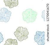 light blue  green vector...   Shutterstock .eps vector #1270041670