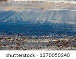 dark mineral ilmenite... | Shutterstock . vector #1270050340