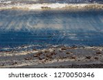 dark mineral ilmenite... | Shutterstock . vector #1270050346