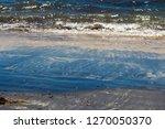 dark mineral ilmenite... | Shutterstock . vector #1270050370