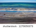 dark mineral ilmenite... | Shutterstock . vector #1270050373