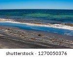 dark mineral ilmenite... | Shutterstock . vector #1270050376