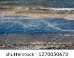 dark mineral ilmenite... | Shutterstock . vector #1270050673