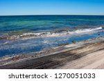 dark mineral ilmenite... | Shutterstock . vector #1270051033