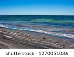 dark mineral ilmenite... | Shutterstock . vector #1270051036