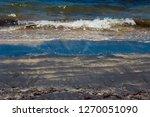 dark mineral ilmenite... | Shutterstock . vector #1270051090
