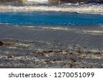 dark mineral ilmenite... | Shutterstock . vector #1270051099