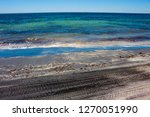 dark mineral ilmenite... | Shutterstock . vector #1270051990