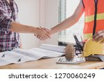 successful meeting and... | Shutterstock . vector #1270060249