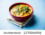 dal palak or lentil spinach... | Shutterstock . vector #1270066906