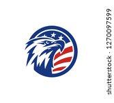 eagle logo templates | Shutterstock .eps vector #1270097599