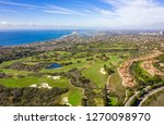 aerial view and time lapse of...   Shutterstock . vector #1270098970