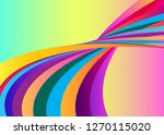 vector background with colorful ... | Shutterstock .eps vector #1270115020