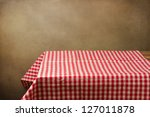 background with table and... | Shutterstock . vector #127011878